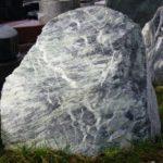 Massiver Felsen als Familiengrabmal