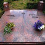 Grabanlage mit Komplettabdeckung