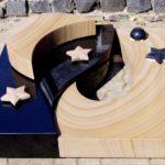 Urnenanlage - die Umrandung ist gleichzeitig eine dekorative Abdeckung