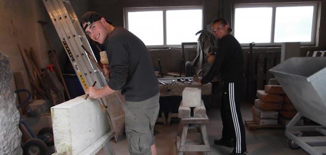 Praktikum Steinmetzbetrieb Mahnke